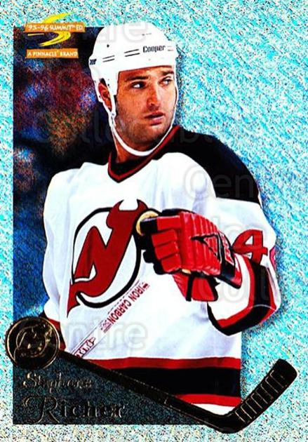 1995-96 Summit Ice #52 Stephane Richer<br/>6 In Stock - $3.00 each - <a href=https://centericecollectibles.foxycart.com/cart?name=1995-96%20Summit%20Ice%20%2352%20Stephane%20Richer...&quantity_max=6&price=$3.00&code=373350 class=foxycart> Buy it now! </a>