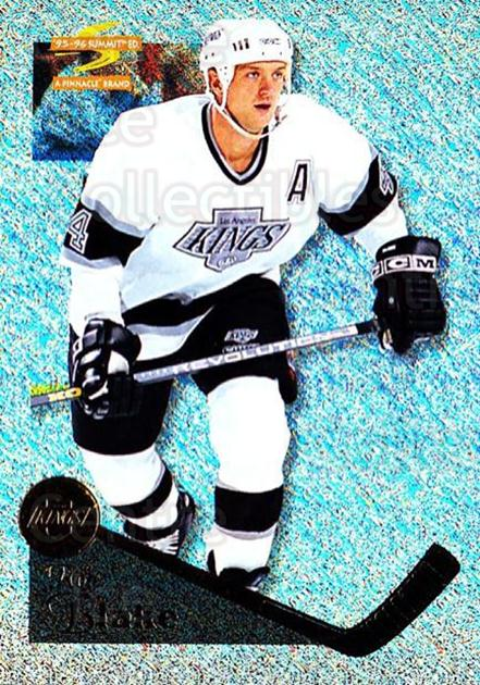 1995-96 Summit Ice #86 Rob Blake<br/>2 In Stock - $3.00 each - <a href=https://centericecollectibles.foxycart.com/cart?name=1995-96%20Summit%20Ice%20%2386%20Rob%20Blake...&quantity_max=2&price=$3.00&code=373387 class=foxycart> Buy it now! </a>