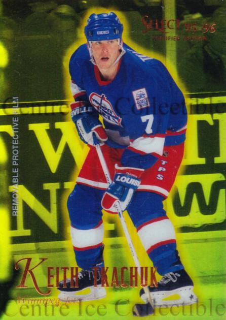 1995-96 Select Certified Mirror Gold #37 Keith Tkachuk<br/>5 In Stock - $3.00 each - <a href=https://centericecollectibles.foxycart.com/cart?name=1995-96%20Select%20Certified%20Mirror%20Gold%20%2337%20Keith%20Tkachuk...&quantity_max=5&price=$3.00&code=373689 class=foxycart> Buy it now! </a>