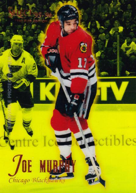 1995-96 Select Certified Mirror Gold #50 Joe Murphy<br/>6 In Stock - $3.00 each - <a href=https://centericecollectibles.foxycart.com/cart?name=1995-96%20Select%20Certified%20Mirror%20Gold%20%2350%20Joe%20Murphy...&quantity_max=6&price=$3.00&code=373702 class=foxycart> Buy it now! </a>