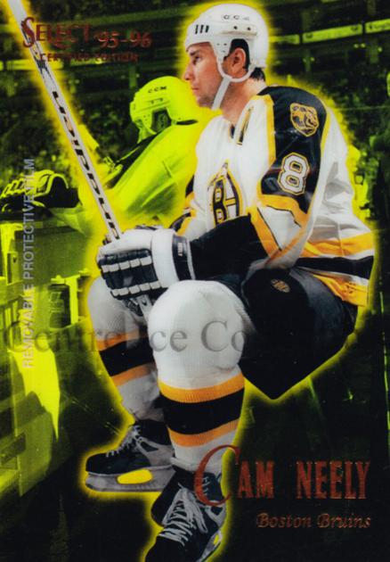 1995-96 Select Certified Mirror Gold #57 Cam Neely<br/>1 In Stock - $3.00 each - <a href=https://centericecollectibles.foxycart.com/cart?name=1995-96%20Select%20Certified%20Mirror%20Gold%20%2357%20Cam%20Neely...&quantity_max=1&price=$3.00&code=373709 class=foxycart> Buy it now! </a>