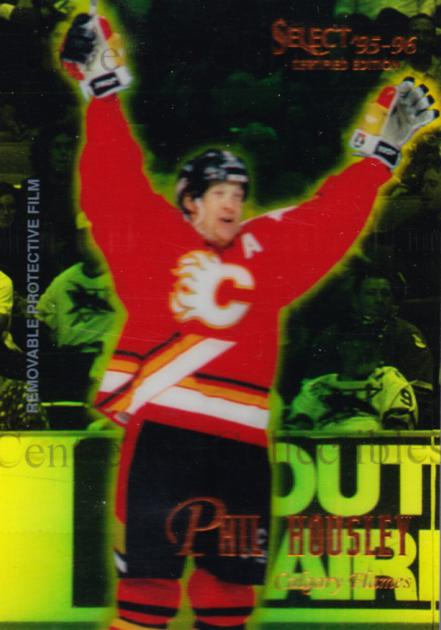 1995-96 Select Certified Mirror Gold #86 Phil Housley<br/>5 In Stock - $3.00 each - <a href=https://centericecollectibles.foxycart.com/cart?name=1995-96%20Select%20Certified%20Mirror%20Gold%20%2386%20Phil%20Housley...&quantity_max=5&price=$3.00&code=373737 class=foxycart> Buy it now! </a>