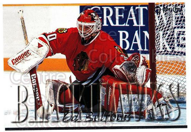 1995-96 Topps O-Pee-Chee Opc Parallel #130 Ed Belfour<br/>4 In Stock - $2.00 each - <a href=https://centericecollectibles.foxycart.com/cart?name=1995-96%20Topps%20O-Pee-Chee%20Opc%20Parallel%20%23130%20Ed%20Belfour...&price=$2.00&code=373812 class=foxycart> Buy it now! </a>