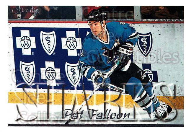 1995-96 Topps O-Pee-Chee Opc Parallel #147 Pat Falloon<br/>23 In Stock - $2.00 each - <a href=https://centericecollectibles.foxycart.com/cart?name=1995-96%20Topps%20O-Pee-Chee%20Opc%20Parallel%20%23147%20Pat%20Falloon...&quantity_max=23&price=$2.00&code=373830 class=foxycart> Buy it now! </a>