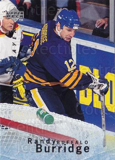 1995-96 Be A Player #114 Randy Burridge<br/>3 In Stock - $1.00 each - <a href=https://centericecollectibles.foxycart.com/cart?name=1995-96%20Be%20A%20Player%20%23114%20Randy%20Burridge...&quantity_max=3&price=$1.00&code=37385 class=foxycart> Buy it now! </a>