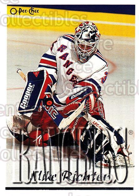 1995-96 Topps O-Pee-Chee Opc Parallel #212 Mike Richter<br/>16 In Stock - $2.00 each - <a href=https://centericecollectibles.foxycart.com/cart?name=1995-96%20Topps%20O-Pee-Chee%20Opc%20Parallel%20%23212%20Mike%20Richter...&quantity_max=16&price=$2.00&code=373901 class=foxycart> Buy it now! </a>