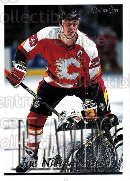 1995-96 Topps O-Pee-Chee Opc Parallel #233 Joe Nieuwendyk<br/>19 In Stock - $2.00 each - <a href=https://centericecollectibles.foxycart.com/cart?name=1995-96%20Topps%20O-Pee-Chee%20Opc%20Parallel%20%23233%20Joe%20Nieuwendyk...&quantity_max=19&price=$2.00&code=373924 class=foxycart> Buy it now! </a>