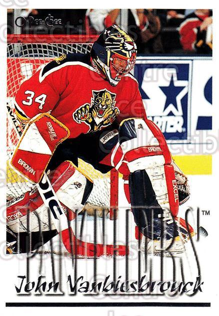 1995-96 Topps O-Pee-Chee Opc Parallel #252 John Vanbiesbrouck<br/>4 In Stock - $2.00 each - <a href=https://centericecollectibles.foxycart.com/cart?name=1995-96%20Topps%20O-Pee-Chee%20Opc%20Parallel%20%23252%20John%20Vanbiesbro...&quantity_max=4&price=$2.00&code=373945 class=foxycart> Buy it now! </a>