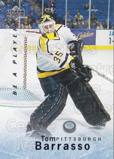 1995-96 Be A Player #124 Tom Barrasso<br/>3 In Stock - $1.00 each - <a href=https://centericecollectibles.foxycart.com/cart?name=1995-96%20Be%20A%20Player%20%23124%20Tom%20Barrasso...&quantity_max=3&price=$1.00&code=37396 class=foxycart> Buy it now! </a>