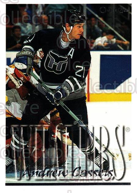 1995-96 Topps O-Pee-Chee Opc Parallel #30 Andrew Cassels<br/>14 In Stock - $2.00 each - <a href=https://centericecollectibles.foxycart.com/cart?name=1995-96%20Topps%20O-Pee-Chee%20Opc%20Parallel%20%2330%20Andrew%20Cassels...&quantity_max=14&price=$2.00&code=373997 class=foxycart> Buy it now! </a>