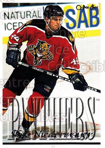 1995-96 Topps O-Pee-Chee Opc Parallel #31 Rob Niedermayer<br/>13 In Stock - $2.00 each - <a href=https://centericecollectibles.foxycart.com/cart?name=1995-96%20Topps%20O-Pee-Chee%20Opc%20Parallel%20%2331%20Rob%20Niedermayer...&quantity_max=13&price=$2.00&code=374007 class=foxycart> Buy it now! </a>