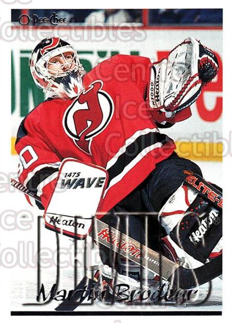 1995-96 Topps O-Pee-Chee Opc Parallel #325 Martin Brodeur<br/>2 In Stock - $10.00 each - <a href=https://centericecollectibles.foxycart.com/cart?name=1995-96%20Topps%20O-Pee-Chee%20Opc%20Parallel%20%23325%20Martin%20Brodeur...&price=$10.00&code=374024 class=foxycart> Buy it now! </a>