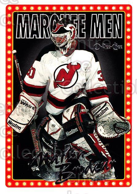 1995-96 Topps O-Pee-Chee Opc Parallel #9 Martin Brodeur<br/>10 In Stock - $5.00 each - <a href=https://centericecollectibles.foxycart.com/cart?name=1995-96%20Topps%20O-Pee-Chee%20Opc%20Parallel%20%239%20Martin%20Brodeur...&price=$5.00&code=374146 class=foxycart> Buy it now! </a>