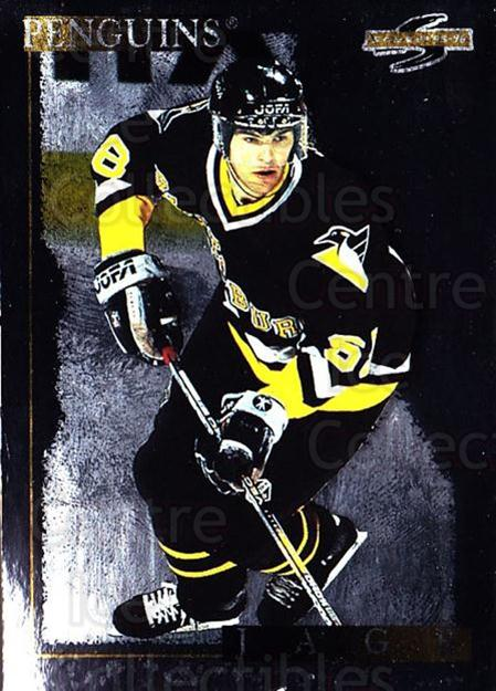 1995-96 Score Black Ice #1 Jaromir Jagr<br/>1 In Stock - $5.00 each - <a href=https://centericecollectibles.foxycart.com/cart?name=1995-96%20Score%20Black%20Ice%20%231%20Jaromir%20Jagr...&quantity_max=1&price=$5.00&code=374159 class=foxycart> Buy it now! </a>