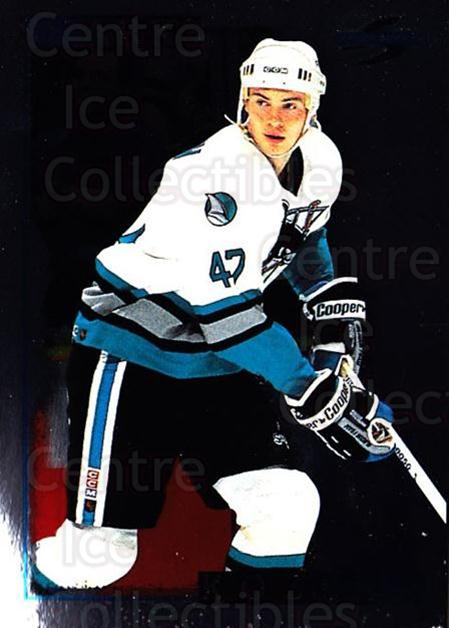 1995-96 Score Black Ice #114 Viktor Kozlov<br/>4 In Stock - $2.00 each - <a href=https://centericecollectibles.foxycart.com/cart?name=1995-96%20Score%20Black%20Ice%20%23114%20Viktor%20Kozlov...&quantity_max=4&price=$2.00&code=374176 class=foxycart> Buy it now! </a>