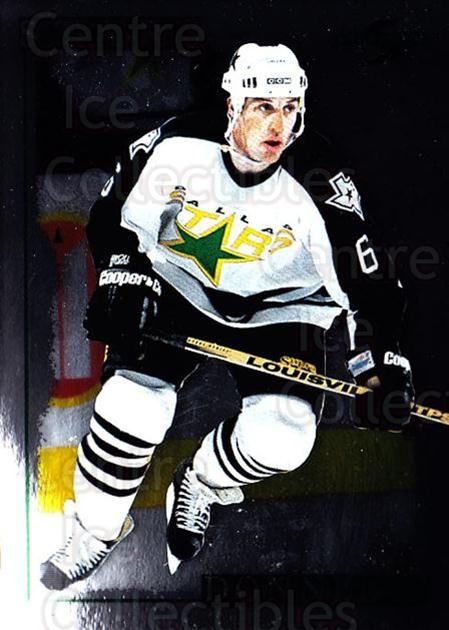 1995-96 Score Black Ice #147 Mike Donnelly<br/>4 In Stock - $2.00 each - <a href=https://centericecollectibles.foxycart.com/cart?name=1995-96%20Score%20Black%20Ice%20%23147%20Mike%20Donnelly...&quantity_max=4&price=$2.00&code=374212 class=foxycart> Buy it now! </a>