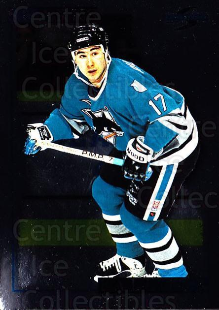 1995-96 Score Black Ice #184 Pat Falloon<br/>2 In Stock - $2.00 each - <a href=https://centericecollectibles.foxycart.com/cart?name=1995-96%20Score%20Black%20Ice%20%23184%20Pat%20Falloon...&quantity_max=2&price=$2.00&code=374253 class=foxycart> Buy it now! </a>