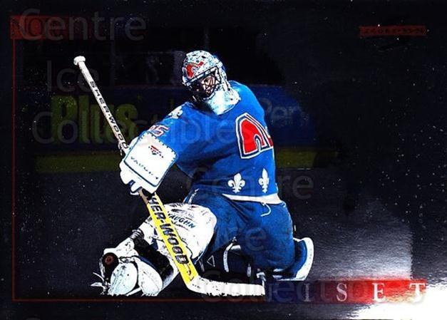 1995-96 Score Black Ice #205 Stephane Fiset<br/>2 In Stock - $2.00 each - <a href=https://centericecollectibles.foxycart.com/cart?name=1995-96%20Score%20Black%20Ice%20%23205%20Stephane%20Fiset...&quantity_max=2&price=$2.00&code=374277 class=foxycart> Buy it now! </a>