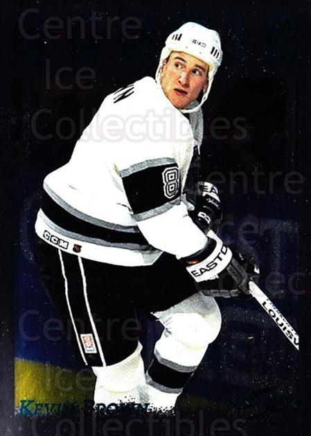 1995-96 Score Black Ice #301 Kevin Brown<br/>2 In Stock - $2.00 each - <a href=https://centericecollectibles.foxycart.com/cart?name=1995-96%20Score%20Black%20Ice%20%23301%20Kevin%20Brown...&quantity_max=2&price=$2.00&code=374382 class=foxycart> Buy it now! </a>