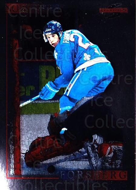 1995-96 Score Black Ice #31 Peter Forsberg<br/>1 In Stock - $5.00 each - <a href=https://centericecollectibles.foxycart.com/cart?name=1995-96%20Score%20Black%20Ice%20%2331%20Peter%20Forsberg...&quantity_max=1&price=$5.00&code=374390 class=foxycart> Buy it now! </a>