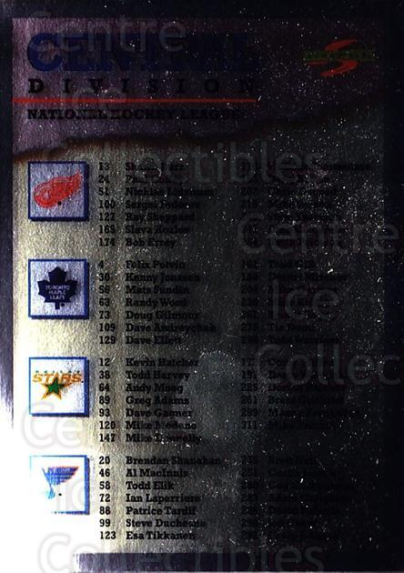 1995-96 Score Black Ice #327 Checklist<br/>3 In Stock - $2.00 each - <a href=https://centericecollectibles.foxycart.com/cart?name=1995-96%20Score%20Black%20Ice%20%23327%20Checklist...&quantity_max=3&price=$2.00&code=374409 class=foxycart> Buy it now! </a>
