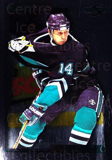 1995-96 Score Black Ice #68 Joe Sacco<br/>4 In Stock - $2.00 each - <a href=https://centericecollectibles.foxycart.com/cart?name=1995-96%20Score%20Black%20Ice%20%2368%20Joe%20Sacco...&quantity_max=4&price=$2.00&code=374451 class=foxycart> Buy it now! </a>