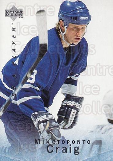 1995-96 Be A Player #17 Mike Craig<br/>3 In Stock - $1.00 each - <a href=https://centericecollectibles.foxycart.com/cart?name=1995-96%20Be%20A%20Player%20%2317%20Mike%20Craig...&quantity_max=3&price=$1.00&code=37445 class=foxycart> Buy it now! </a>