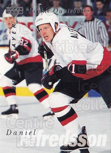 1995-96 Be A Player #171 Daniel Alfredsson<br/>4 In Stock - $2.00 each - <a href=https://centericecollectibles.foxycart.com/cart?name=1995-96%20Be%20A%20Player%20%23171%20Daniel%20Alfredss...&quantity_max=4&price=$2.00&code=37447 class=foxycart> Buy it now! </a>