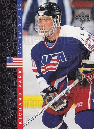 1995-96 Be A Player #185 Richard Park<br/>4 In Stock - $1.00 each - <a href=https://centericecollectibles.foxycart.com/cart?name=1995-96%20Be%20A%20Player%20%23185%20Richard%20Park...&quantity_max=4&price=$1.00&code=37462 class=foxycart> Buy it now! </a>