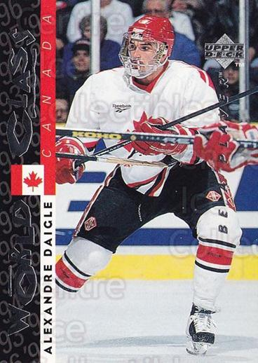 1995-96 Be A Player #188 Alexandre Daigle<br/>5 In Stock - $1.00 each - <a href=https://centericecollectibles.foxycart.com/cart?name=1995-96%20Be%20A%20Player%20%23188%20Alexandre%20Daigl...&quantity_max=5&price=$1.00&code=37465 class=foxycart> Buy it now! </a>
