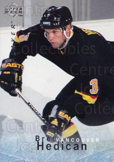 1995-96 Be A Player #19 Bret Hedican<br/>5 In Stock - $1.00 each - <a href=https://centericecollectibles.foxycart.com/cart?name=1995-96%20Be%20A%20Player%20%2319%20Bret%20Hedican...&quantity_max=5&price=$1.00&code=37467 class=foxycart> Buy it now! </a>