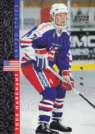 1995-96 Be A Player #190 Todd Marchant<br/>5 In Stock - $1.00 each - <a href=https://centericecollectibles.foxycart.com/cart?name=1995-96%20Be%20A%20Player%20%23190%20Todd%20Marchant...&quantity_max=5&price=$1.00&code=37468 class=foxycart> Buy it now! </a>