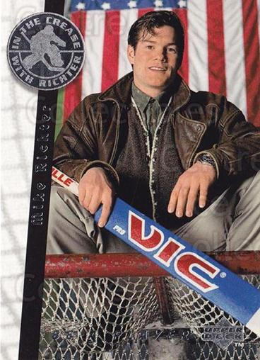 1995-96 Be A Player #191 Mike Richter<br/>4 In Stock - $1.00 each - <a href=https://centericecollectibles.foxycart.com/cart?name=1995-96%20Be%20A%20Player%20%23191%20Mike%20Richter...&quantity_max=4&price=$1.00&code=37469 class=foxycart> Buy it now! </a>