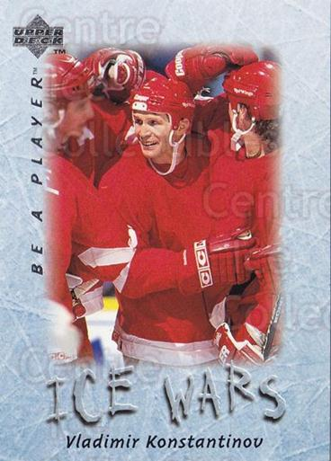 1995-96 Be A Player #216 Vladimir Konstantinov<br/>2 In Stock - $1.00 each - <a href=https://centericecollectibles.foxycart.com/cart?name=1995-96%20Be%20A%20Player%20%23216%20Vladimir%20Konsta...&quantity_max=2&price=$1.00&code=37494 class=foxycart> Buy it now! </a>