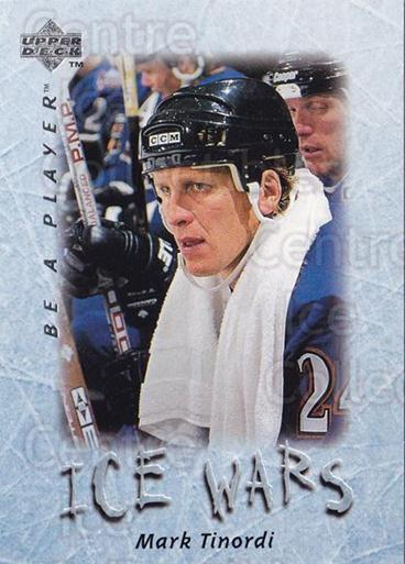 1995-96 Be A Player #220 Mark Tinordi<br/>5 In Stock - $1.00 each - <a href=https://centericecollectibles.foxycart.com/cart?name=1995-96%20Be%20A%20Player%20%23220%20Mark%20Tinordi...&quantity_max=5&price=$1.00&code=37499 class=foxycart> Buy it now! </a>