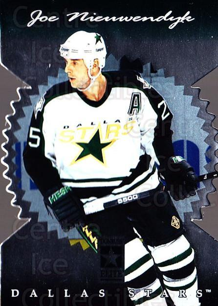 1996-97 Donruss Elite Die Cut Stars #62 Joe Nieuwendyk<br/>2 In Stock - $5.00 each - <a href=https://centericecollectibles.foxycart.com/cart?name=1996-97%20Donruss%20Elite%20Die%20Cut%20Stars%20%2362%20Joe%20Nieuwendyk...&quantity_max=2&price=$5.00&code=375468 class=foxycart> Buy it now! </a>