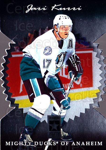 1996-97 Donruss Elite Die Cut Stars #85 Jari Kurri<br/>1 In Stock - $10.00 each - <a href=https://centericecollectibles.foxycart.com/cart?name=1996-97%20Donruss%20Elite%20Die%20Cut%20Stars%20%2385%20Jari%20Kurri...&quantity_max=1&price=$10.00&code=375492 class=foxycart> Buy it now! </a>