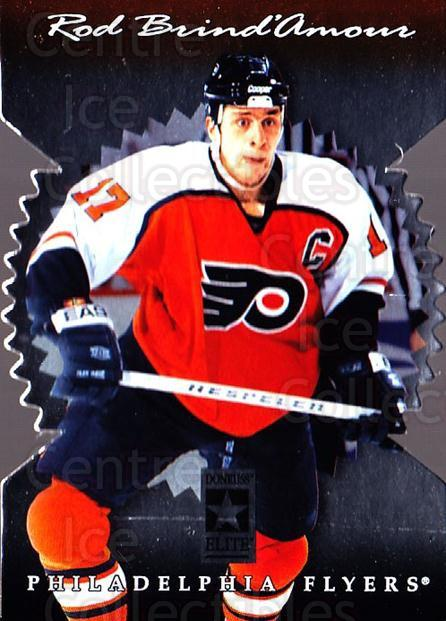 1996-97 Donruss Elite Die Cut Stars #93 Rod Brind'Amour<br/>1 In Stock - $5.00 each - <a href=https://centericecollectibles.foxycart.com/cart?name=1996-97%20Donruss%20Elite%20Die%20Cut%20Stars%20%2393%20Rod%20Brind'Amour...&quantity_max=1&price=$5.00&code=375500 class=foxycart> Buy it now! </a>