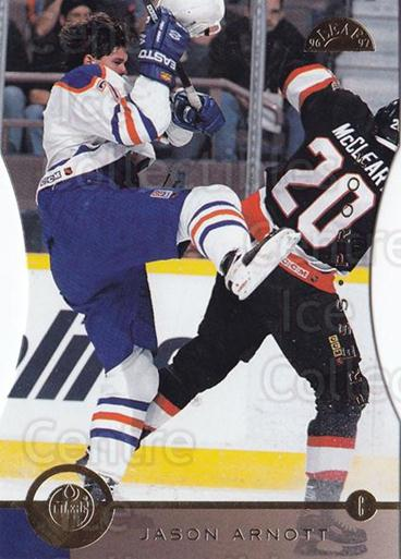1996-97 Leaf Press Proof #179 Jason Arnott<br/>5 In Stock - $5.00 each - <a href=https://centericecollectibles.foxycart.com/cart?name=1996-97%20Leaf%20Press%20Proof%20%23179%20Jason%20Arnott...&quantity_max=5&price=$5.00&code=375686 class=foxycart> Buy it now! </a>