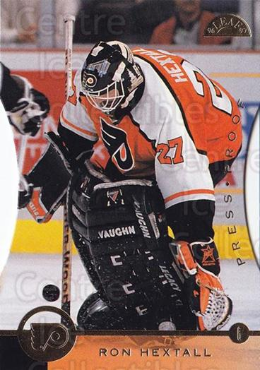 1996-97 Leaf Press Proof #194 Ron Hextall<br/>1 In Stock - $5.00 each - <a href=https://centericecollectibles.foxycart.com/cart?name=1996-97%20Leaf%20Press%20Proof%20%23194%20Ron%20Hextall...&quantity_max=1&price=$5.00&code=375703 class=foxycart> Buy it now! </a>