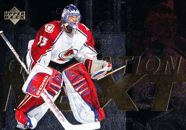 1996-97 Upper Deck Generation Next #5 Jocelyn Thibault, Patrick Roy<br/>1 In Stock - $5.00 each - <a href=https://centericecollectibles.foxycart.com/cart?name=1996-97%20Upper%20Deck%20Generation%20Next%20%235%20Jocelyn%20Thibaul...&price=$5.00&code=375768 class=foxycart> Buy it now! </a>