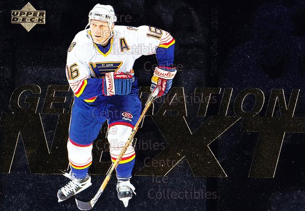 1996-97 Upper Deck Generation Next #6 Daniel Alfredsson, Brett Hull<br/>1 In Stock - $2.00 each - <a href=https://centericecollectibles.foxycart.com/cart?name=1996-97%20Upper%20Deck%20Generation%20Next%20%236%20Daniel%20Alfredss...&quantity_max=1&price=$2.00&code=375769 class=foxycart> Buy it now! </a>
