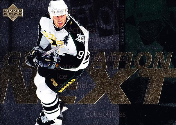 1996-97 Upper Deck Generation Next #21 Jarome Iginla, Mike Modano<br/>3 In Stock - $2.00 each - <a href=https://centericecollectibles.foxycart.com/cart?name=1996-97%20Upper%20Deck%20Generation%20Next%20%2321%20Jarome%20Iginla,%20...&quantity_max=3&price=$2.00&code=375774 class=foxycart> Buy it now! </a>