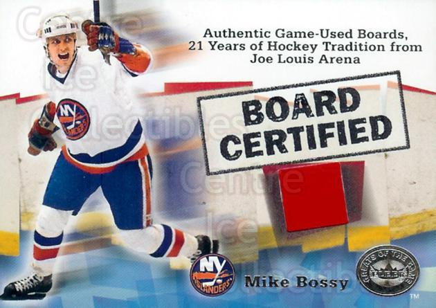2001-02 Fleer Greats of the Game Board Certified #1 Mike Bossy<br/>2 In Stock - $10.00 each - <a href=https://centericecollectibles.foxycart.com/cart?name=2001-02%20Fleer%20Greats%20of%20the%20Game%20Board%20Certified%20%231%20Mike%20Bossy...&price=$10.00&code=375779 class=foxycart> Buy it now! </a>