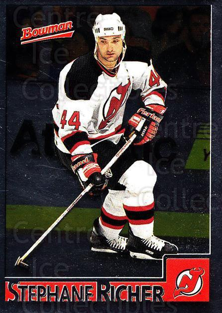 1995-96 Bowman Foil #14 Stephane Richer<br/>6 In Stock - $2.00 each - <a href=https://centericecollectibles.foxycart.com/cart?name=1995-96%20Bowman%20Foil%20%2314%20Stephane%20Richer...&quantity_max=6&price=$2.00&code=37581 class=foxycart> Buy it now! </a>
