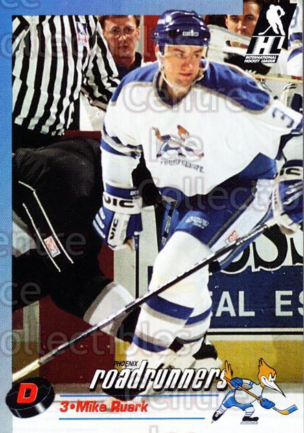 1992-93 Phoenix Roadrunners #19 Mike Ruark<br/>1 In Stock - $3.00 each - <a href=https://centericecollectibles.foxycart.com/cart?name=1992-93%20Phoenix%20Roadrunners%20%2319%20Mike%20Ruark...&quantity_max=1&price=$3.00&code=375860 class=foxycart> Buy it now! </a>