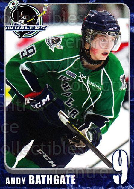 2011-12 Plymouth Whalers #8 Andy Bathgate<br/>6 In Stock - $3.00 each - <a href=https://centericecollectibles.foxycart.com/cart?name=2011-12%20Plymouth%20Whalers%20%238%20Andy%20Bathgate...&quantity_max=6&price=$3.00&code=375877 class=foxycart> Buy it now! </a>