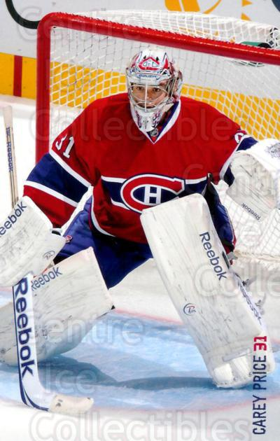 2011-12 Montreal Canadiens Postcards #20 Carey Price<br/>1 In Stock - $3.00 each - <a href=https://centericecollectibles.foxycart.com/cart?name=2011-12%20Montreal%20Canadiens%20Postcards%20%2320%20Carey%20Price...&price=$3.00&code=375956 class=foxycart> Buy it now! </a>