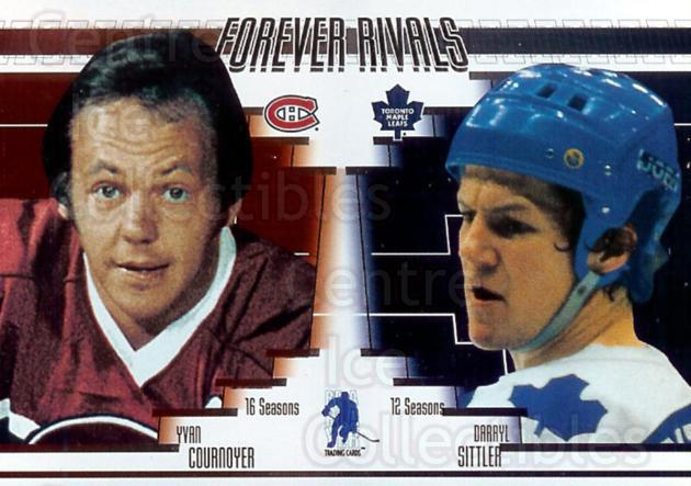 2003 ITG Toronto Fall Expo Forever Rivals #6 Darryl Sittler, Yvan Cournoyer<br/>1 In Stock - $10.00 each - <a href=https://centericecollectibles.foxycart.com/cart?name=2003%20ITG%20Toronto%20Fall%20Expo%20Forever%20Rivals%20%236%20Darryl%20Sittler,...&quantity_max=1&price=$10.00&code=376013 class=foxycart> Buy it now! </a>