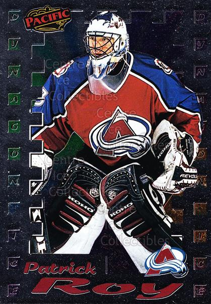 1998-99 Pacific Insert Dynagon Ice #6 Patrick Roy<br/>1 In Stock - $5.00 each - <a href=https://centericecollectibles.foxycart.com/cart?name=1998-99%20Pacific%20Insert%20Dynagon%20Ice%20%236%20Patrick%20Roy...&price=$5.00&code=376116 class=foxycart> Buy it now! </a>